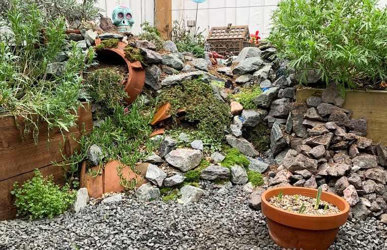 jardín de rocalla espacio natural