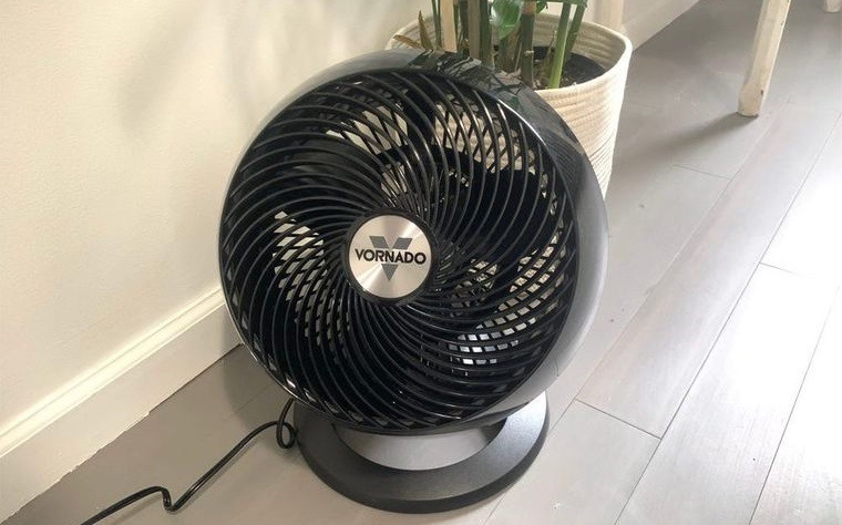mosquitos eliminados por ventilador