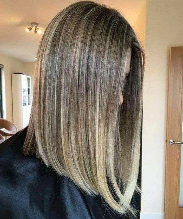 peinados media melena cabello fino