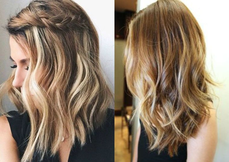 peinados media melena faciles