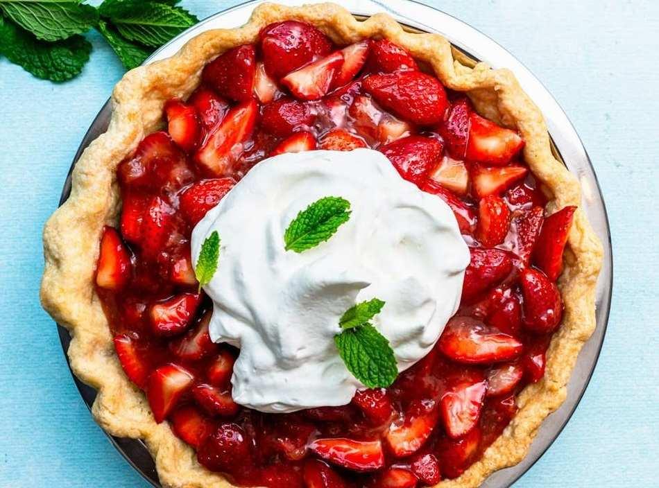 postres de verano tarta de fresa