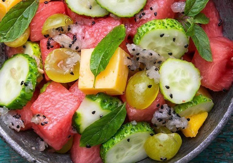 sobrehidratación alimentos ricos en agua
