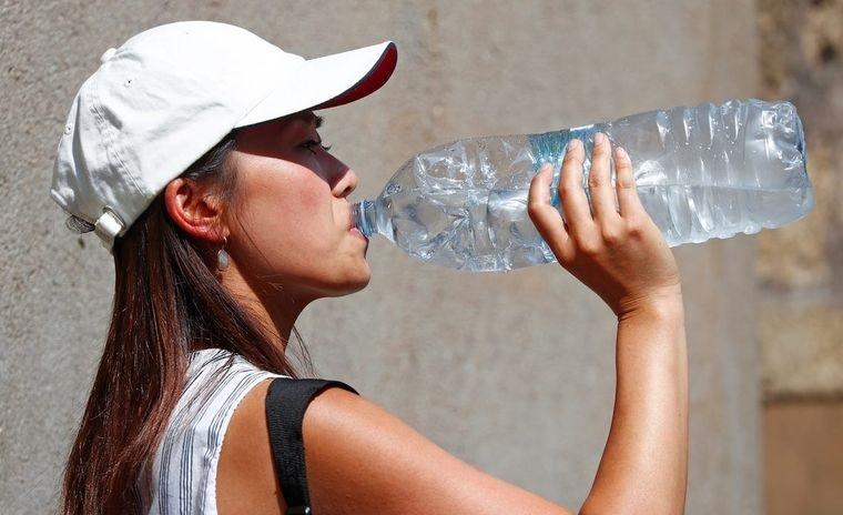 sobrehidratación demasiada agua