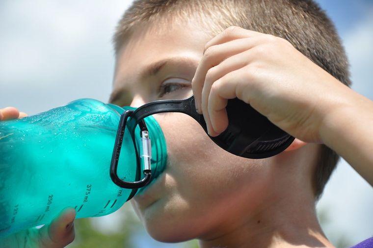 sobrehidratación en niños