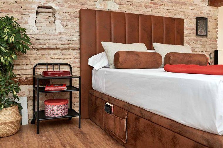 cabeceros de cama tapizado