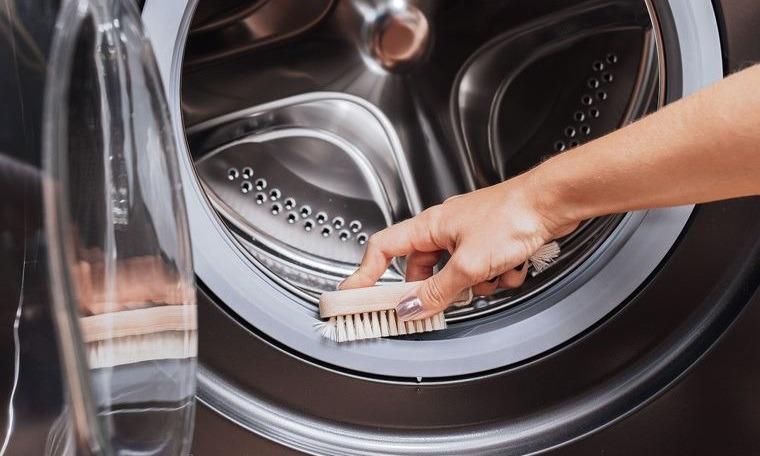 cómo limpiar la lavadora en casa