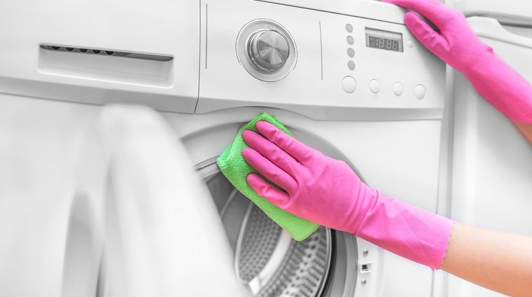 cómo limpiar la lavadora regularmente