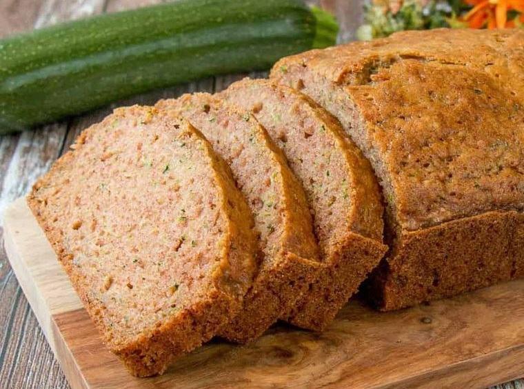 congelar calabacín saludable pan
