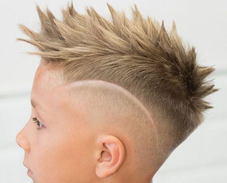 cortes de pelo para chicos con diseño puntiagudo
