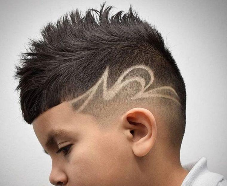 cortes de pelo para chicos con diseño