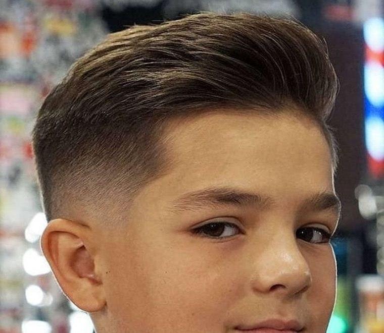 cortes de pelo para chicos con suave desvanecimiento