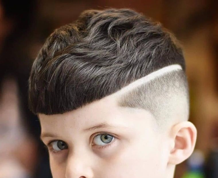 cortes de pelo para chicos desconectado desvanecimiento