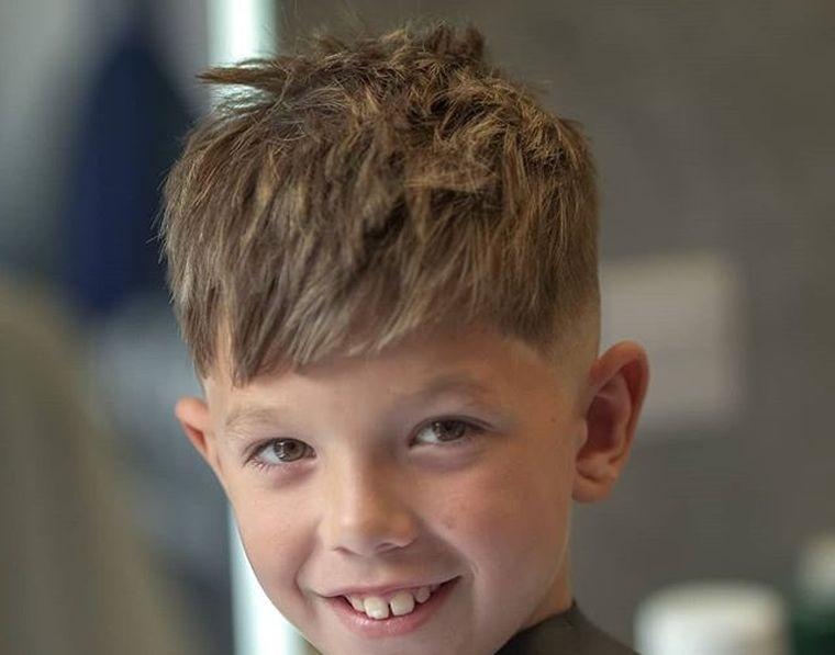 cortes de pelo para chicos desordenado parte superior