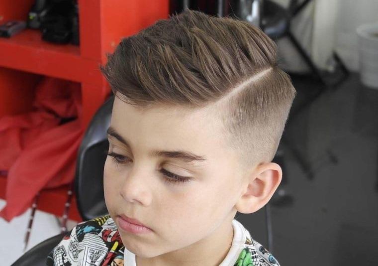 cortes de pelo para chicos frances clasico con desvanecimiento