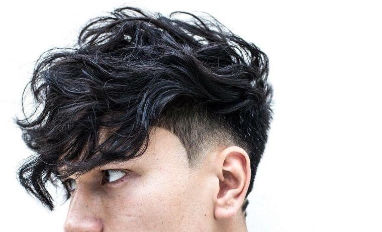 cortes de pelo para chicos parte superior gruesa rizada