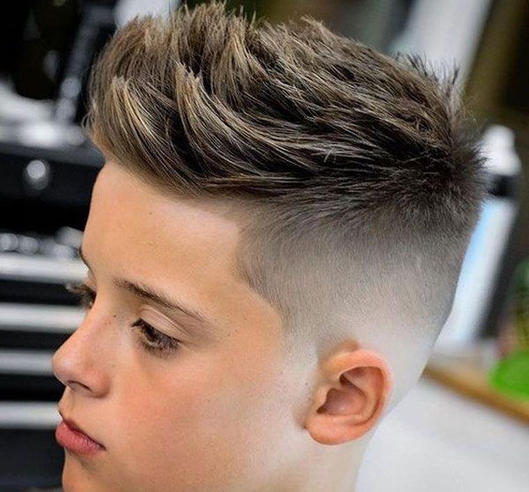 cortes de pelo para chicos puntiagudo