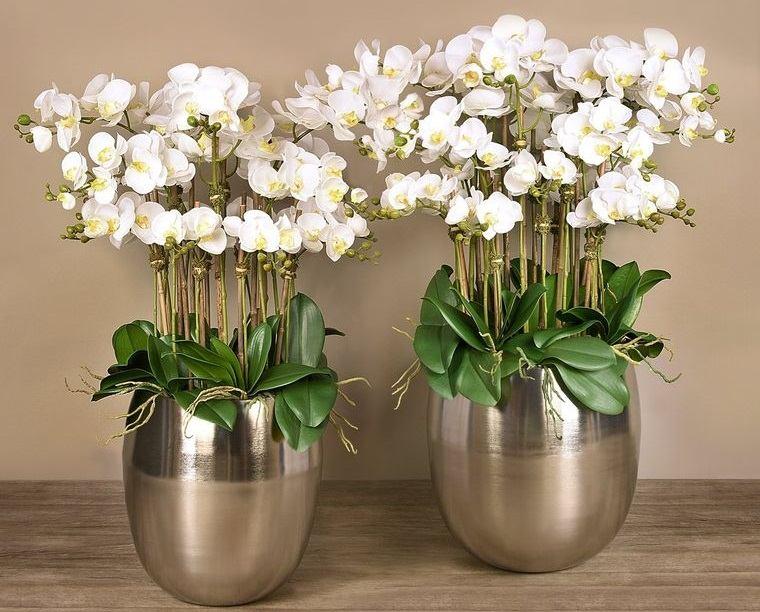 flores artificiales decoracion elegante