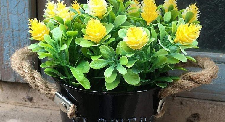 flores artificiales decoracion rustica