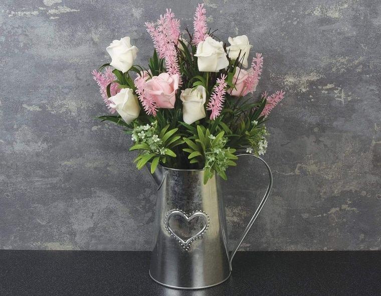 flores artificiales diferentes tipos