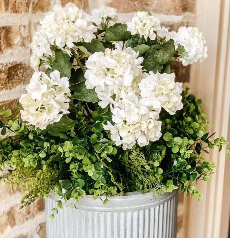 flores artificiales duraderas