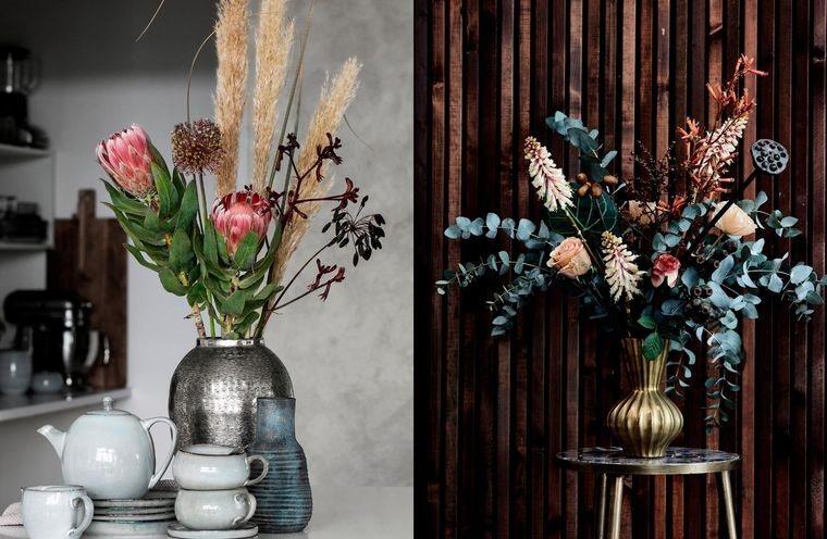flores artificiales para cualquier estilo decorativo