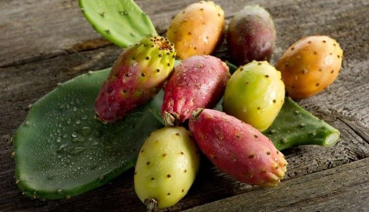 fruta de cactus fuente de nutrientes