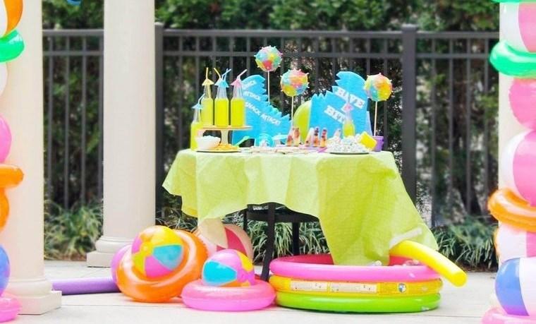 ideas para cumpleaños con tema playero
