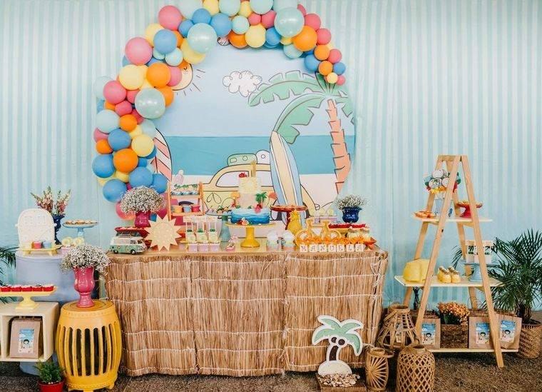 ideas para cumpleaños decoracion verano
