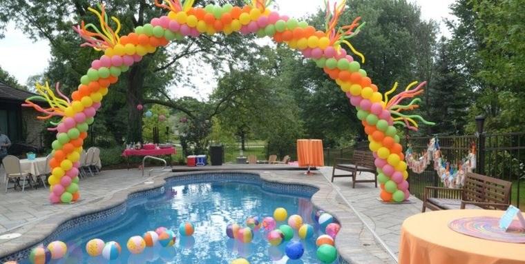 ideas para cumpleaños en piscina