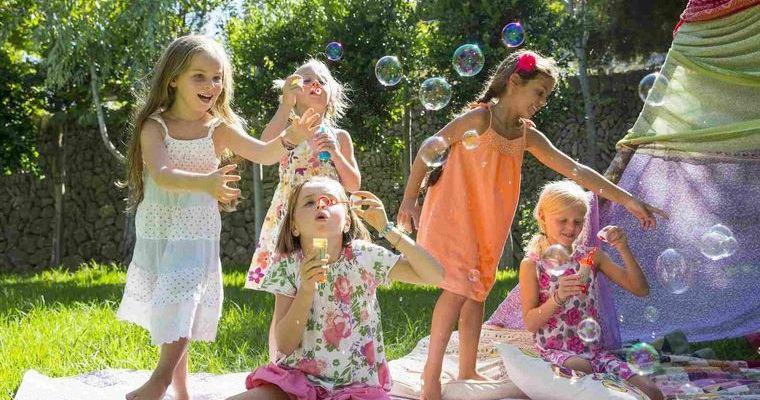 ideas para cumpleaños infantiles burbujas