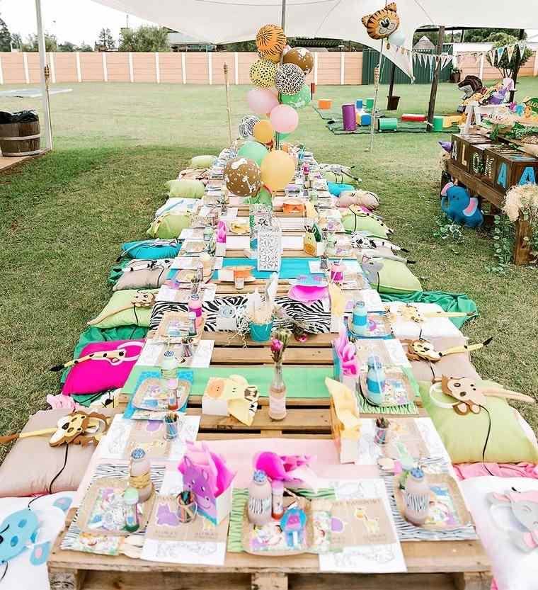 ideas para cumpleaños picnic infantil