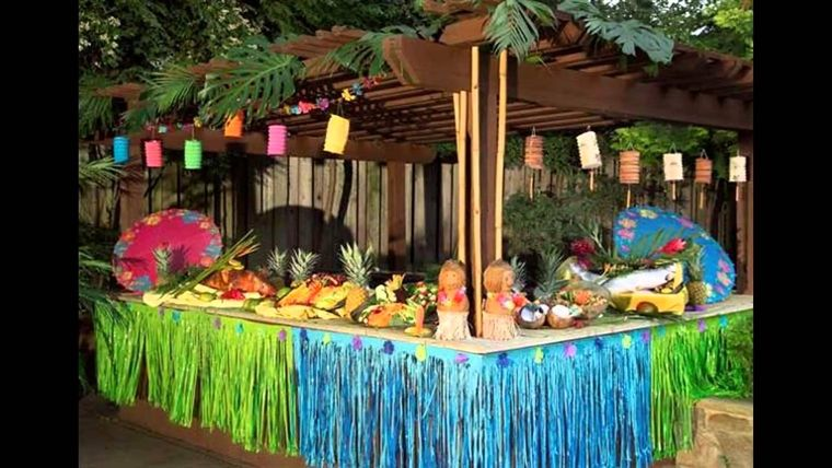 ideas para cumpleaños tematica hawaiana