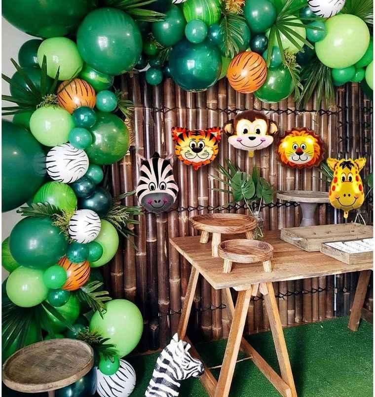 ideas para cumpleaños tematica tropical
