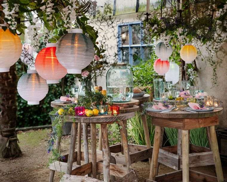 ideas para cumpleaños verano jardin