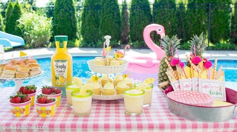 ideas para cumpleaños verano tropical infantil