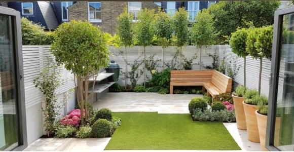 ideas para jardines pequeños diseños