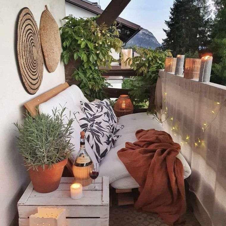 Ideas para ocultar balcón decoracion