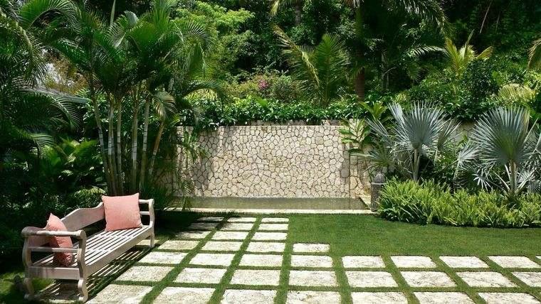 jardín tropical inspiracion en tropico