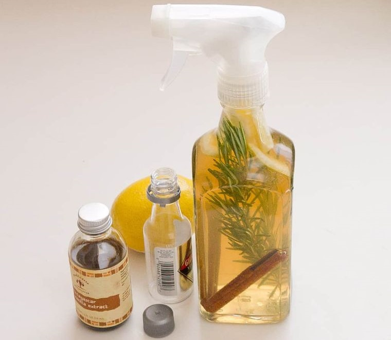 mal olor aromatizante DIY