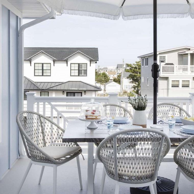 muebles para balcón color-blanco