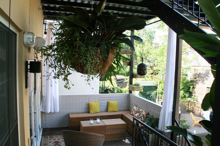 muebles para balcón-estilo-ideas