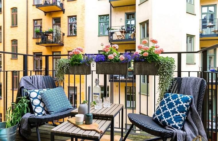 muebles para balcón ideas-decoracion-exterior
