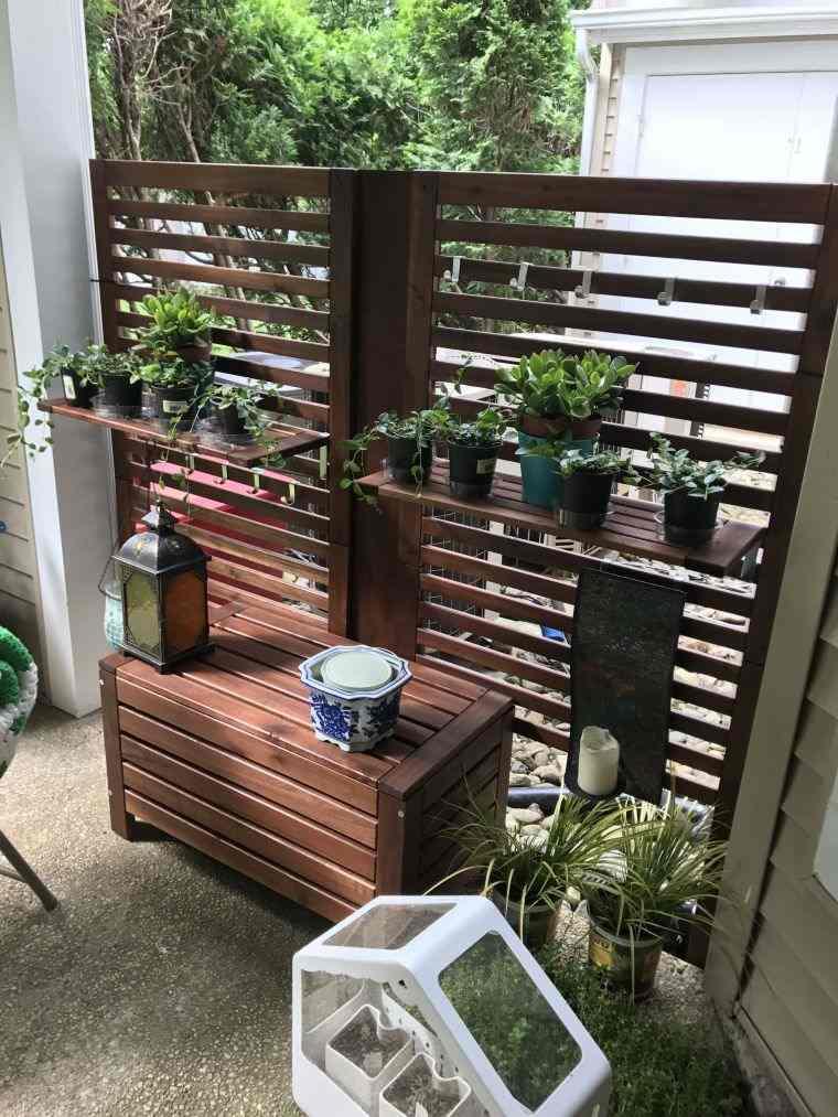 muro-madera-balcon-ideas