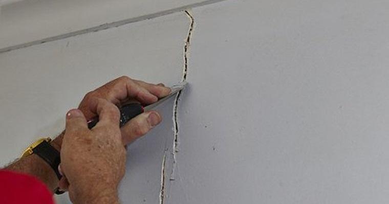 nido de avispas sellar grietas en pared