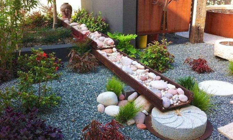 piedras decorativas cambian aspecto del jardin