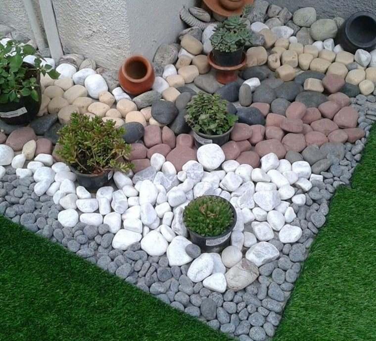 piedras decorativas grandes para jardin