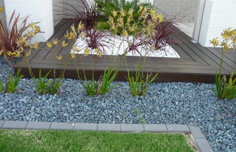 piedras decorativas ideas para jardines