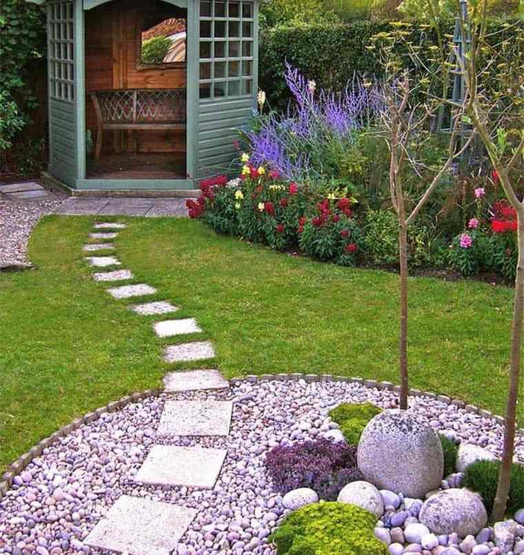 piedras decorativas mejorar el espacio