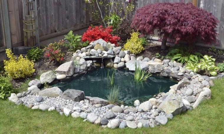 piedras decorativas para diseño original en jardines