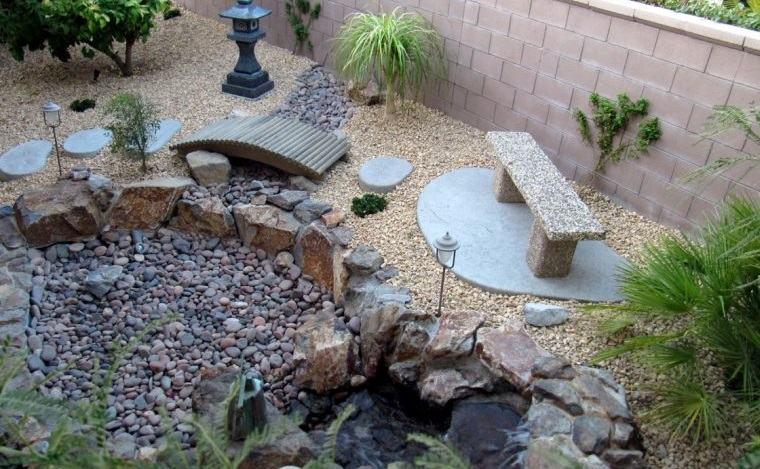 piedras decorativas para jardines zen